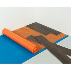 Oranje vloerverwarming ondervloer Thermoplus